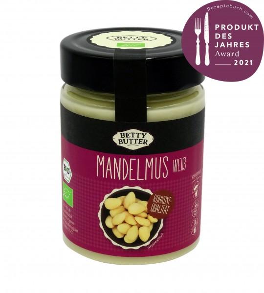 Bio Mandelmus weiß, Rohkost-Qualität, 330 g