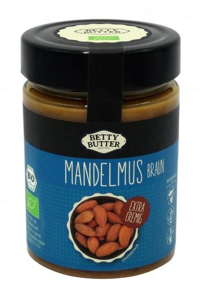 Bio Mandelmus braun, geröstet, 330 g