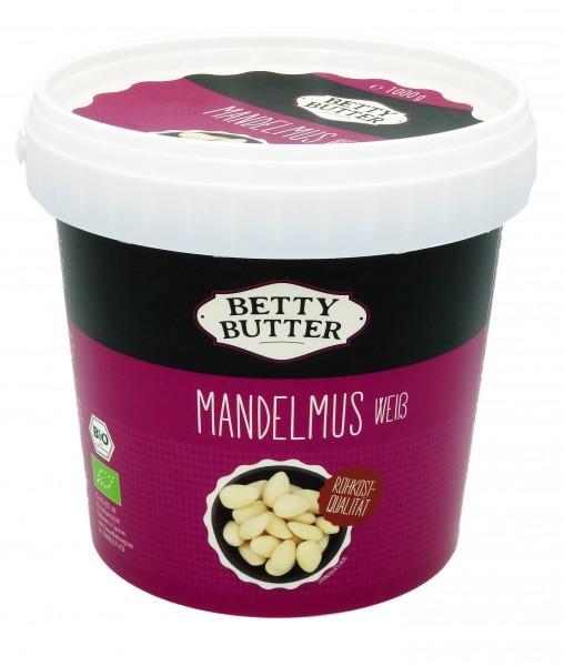 Bio Mandelmus weiß, Rohkost-Qualität, 1 kg